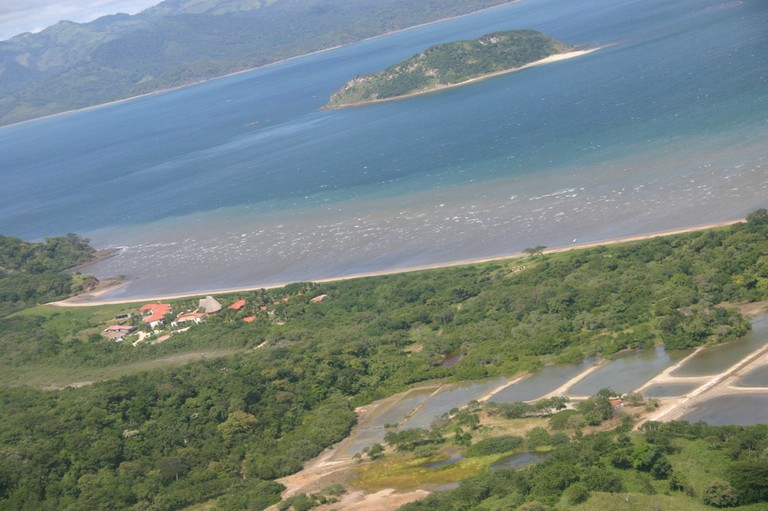 Bahia Salinas got its name from this area where salt was created from the sea also top kite surfing spot in central america.JPG - big