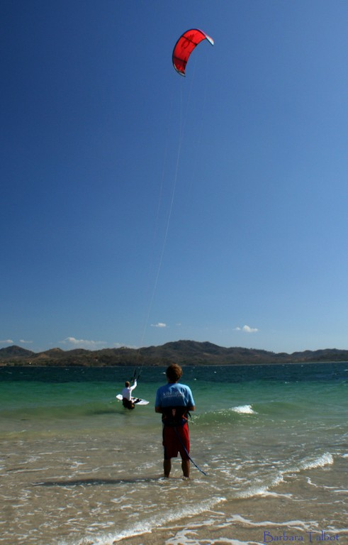 Costa Rica Kiteboarading and kitesurfing courses with top instructors on one of the worlds greatest wind spots Bahia Salinas Guanacaste..jpg - big