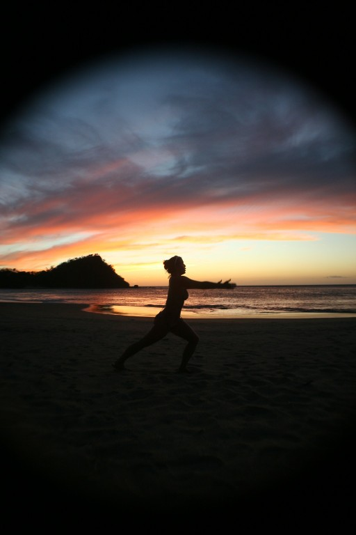 Besides Kitesurfing we offer the occasional Yoga here at the Kite House Costa Rica tour packages.jpg - big