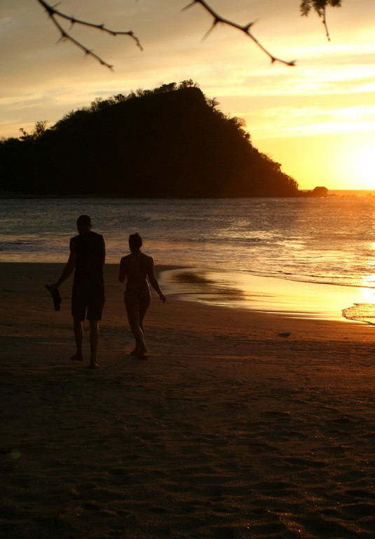 enjoying the sunset after a long day kite surfing in bahia salinas costa rica.jpg - big