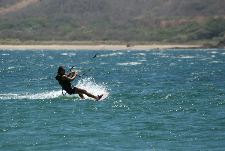 Kiteboarding and kitesurfing professionals letting you learn how to truly kite costa rica top wind destination of central america.jpg - big