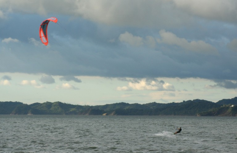 Kiteboarding and kitesurfing school costa rica best wind destination of central america on the north west pacific coast.jpg - big