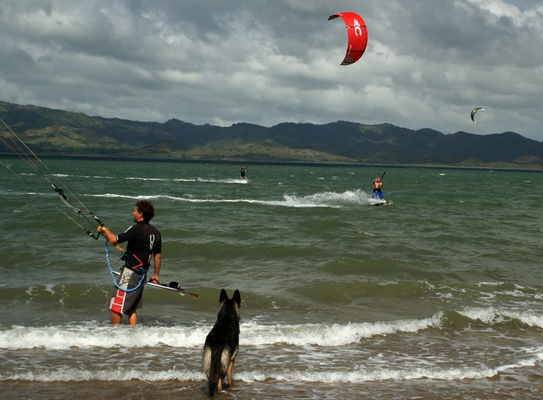 Kiteboarding and kitesurfing school costa rica top wind destination of central america bahia salinas guanacaste pacific coast.jpg - big