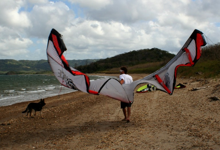 Kiteboarding and kitesurfing school costa rica top wind destination of central america bahia salinas.jpg - big
