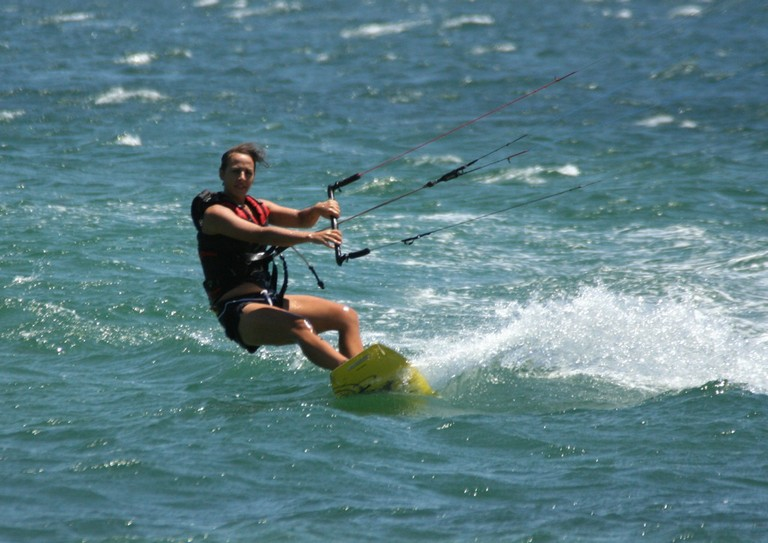 Kiteboarding and kitesurfing school costa rica top wind destination of central america making it look easy.jpg - big
