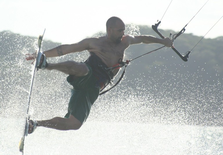 Kiteboarding and kitesurfing school professional instructor costa rica top wind destination of central america bahia salinas air.jpg - big