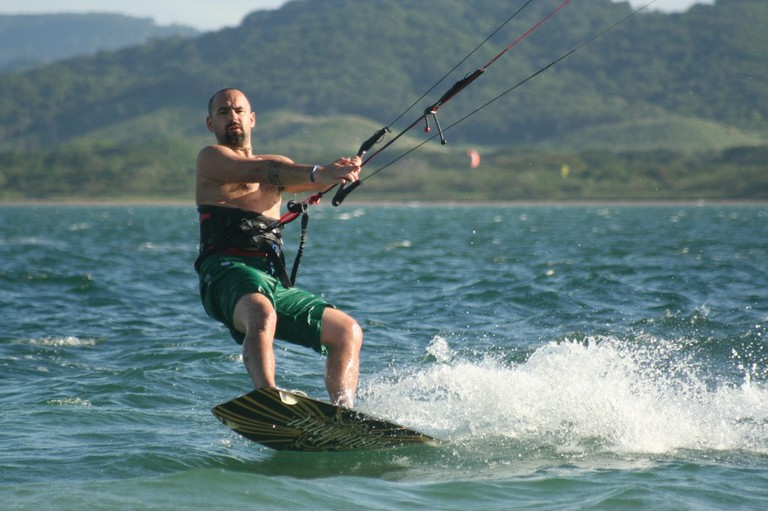 Kiteboarding and kitesurfing school professional instructor costa rica top wind destination of central america bahia salinas kite lessons.jpg - big