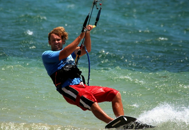 Kiteboarding and kitesurfing school professional instructor costa rica top wind destination of central america bahia salinas.jpg - big