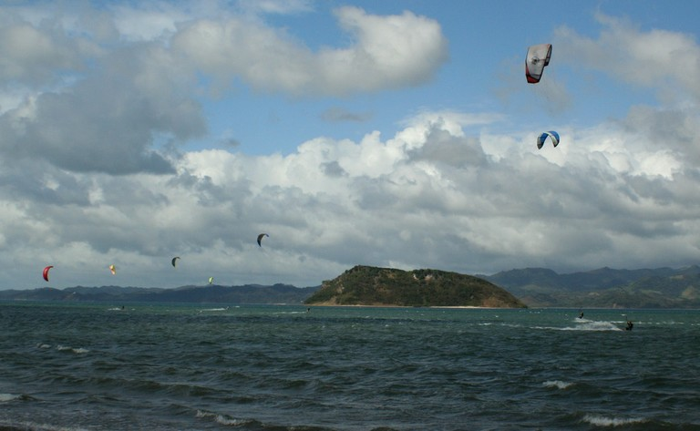 Kiteboarding and kitesurfing school professional surfers costa rica top wind destination of central america bahia salinas .jpg - big