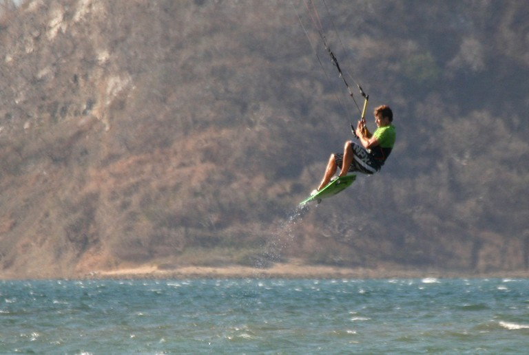 Kiteboarding Costa Rica Air with another amazing day with the guys from the kite house in bahia salinas.jpg - big