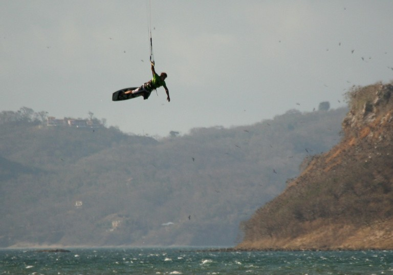 Kiteboarding Costa Rica with the kite house in bahia salinas huge air take off with us.jpg - big