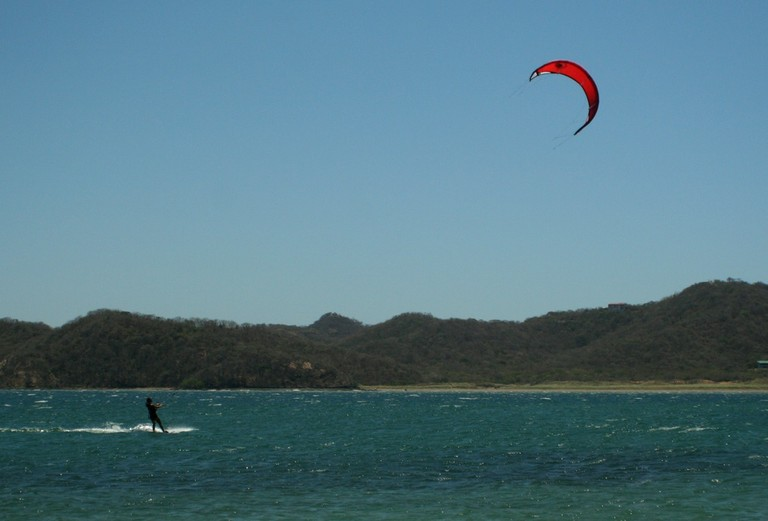 Kiteboarding- windsurfing and kitesurfing costa rica top wind destination of central america pacific coast.jpg - big